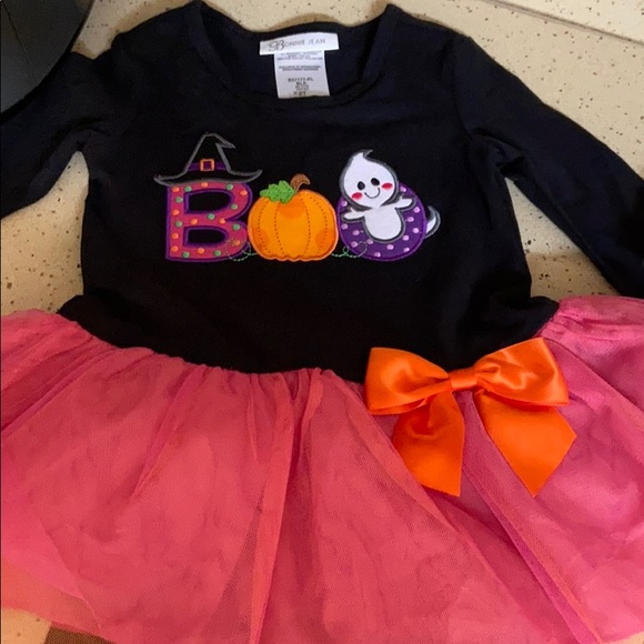 2t Halloween girls outfit